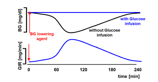 New PID-algorithm for automated glucose clamps