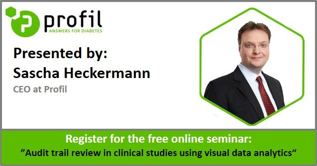 Free Online Seminar: Audit trail review in clinical studies using visual data analytics
