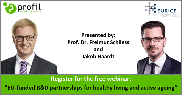 Free webinar on EU-funded R&D partnerships in healthy living and active ageing