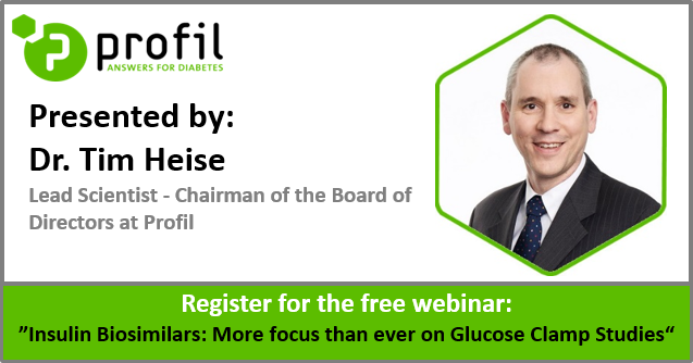 Free webinar on insulin biosimilars