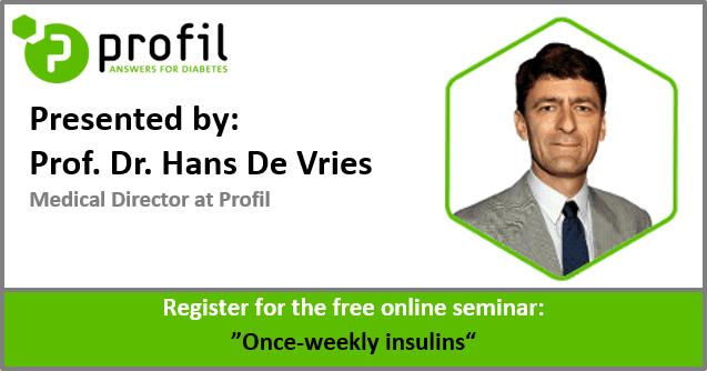 Free Online Seminar: Once-weekly insulins