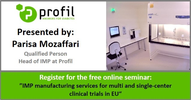 Free Online Seminar: IMP manufacturing services for clinical trials in EU