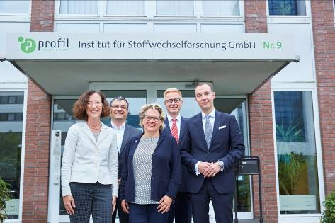 Federal State Minister visited Profil Germany