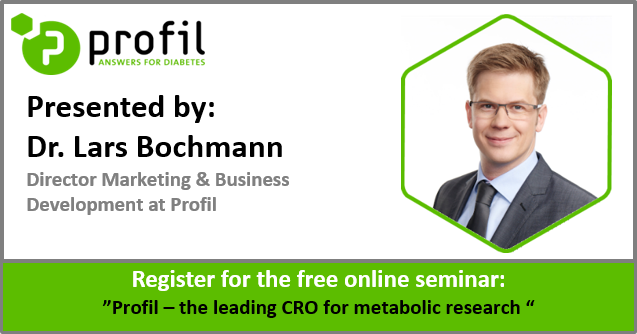 Free Online Seminar: Profil - the leading CRO for metabolic research