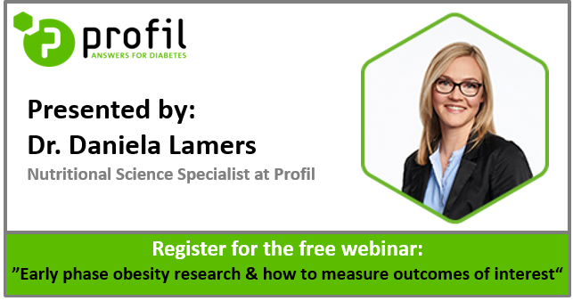 Free webinar on early phase obesity research
